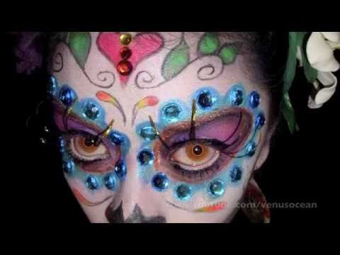 Day of the dead / sugar skull tutorial!
