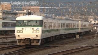 getlinkyoutube.com-JR西日本 117系福知山色 セキC104編成 新山口駅 2011.11