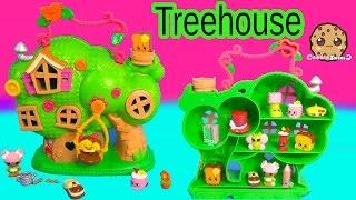 getlinkyoutube.com-Lalaloopsy Treehouse Playset & Shopkins Season 3 12 Pack Unboxing Toy Review Video Cookieswirlc