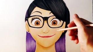 """Cómo Dibujar a Diana Diaz """"Disney Style""""   Colaboración   ArteMaster"""