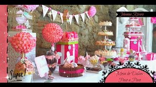 getlinkyoutube.com-Como Decorar Mesa de dulces Scrapbook, Topiario para gominolas     Paso a Paso