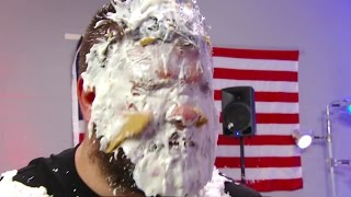 getlinkyoutube.com-Who threw the pie at Kevin Owens?