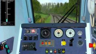 getlinkyoutube.com-Class 444 - Portsmouth Harbour to London Waterloo - MSTS - Part 2
