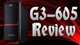 getlinkyoutube.com-Acer Predator G3-605 i7 Gaming Desktop Review