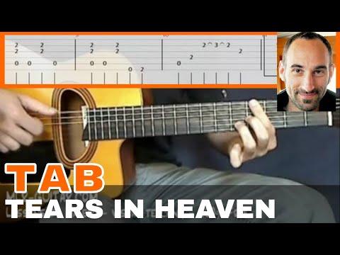"Video-Tab ""Tears In Heaven"" - MLR-Guitar Lessons"