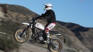 Ducati Scrambler Desert Sled | Presentación / Primera Prueba / Test / Review en español | motos.net