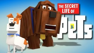getlinkyoutube.com-Minecraft Parody - SECRET LIFE OF PETS! - (Minecraft Animation)