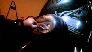 getlinkyoutube.com-How to Install Rough Crafts Air Cleaner on a Harley Davidson Sportster