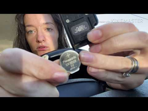 Тайота Приус 2010 Как вскрыть брелок для замены батарейки