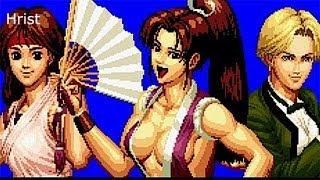 getlinkyoutube.com-The King of Fighters 94 Ryona Mai,yuri and King