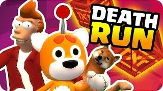 getlinkyoutube.com-TRAMPAS IMPOSIBLES !! DEATHRUN | Sara, Exo, Gona y Luh en Garry's Mod Death run