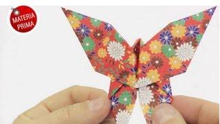 getlinkyoutube.com-Mariposa de papel para el Día de la Madre - DIY Origami