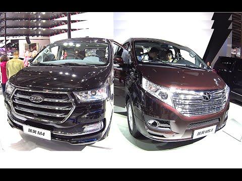 Luxury Chinese MPVs, VANs, JAC M5 VS JAC M4 2016, 2017 model