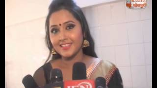 "getlinkyoutube.com-Bhojpuri Barbie Doll Kajal Raghwani Says "" Aisey Kaise Thank You """
