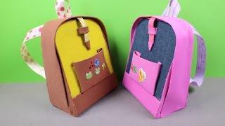 getlinkyoutube.com-DIY AG American Girl Doll Backpack