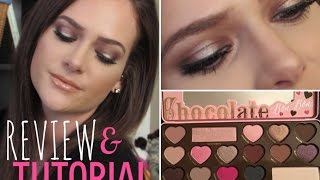 getlinkyoutube.com-NEW! Too Faced Chocolate Bon Bons Palette | Review AND Tutorial!