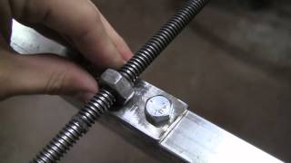 getlinkyoutube.com-DIY Steel CNC Machine Scarab Mark I