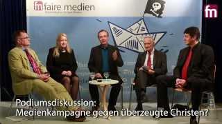 getlinkyoutube.com-Podiumsdiskussion: Medienkampagne gegen überzeugte Christen? Der Fall Hollemann und die Folgen