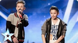 getlinkyoutube.com-Bars & Melody - Simon Cowell's Golden Buzzer act | Britain's Got Talent 2014