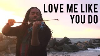 getlinkyoutube.com-Ellie Goulding - Love Me Like You Do (DSharp Violin Cover)