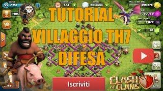 getlinkyoutube.com-Tutorial villaggio th7 (DIFESA)