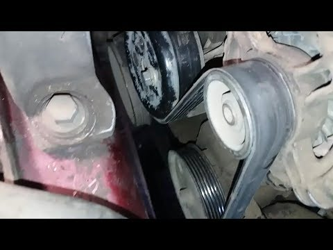 Как легко установить ремень генератора форд фокус 2 способ1