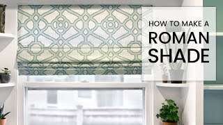 getlinkyoutube.com-How to Make a Roman Shade