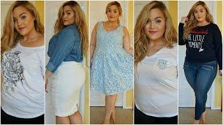 getlinkyoutube.com-Plus Size Spring Clothing Haul + Try-On | 2016