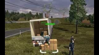 getlinkyoutube.com-Euro Truck Simulator 2 mod Autostop  ILLEGAL CARGO