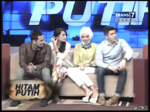 Shireen Sungkar & Teuku Wisnu,  HITAM PUTIH 4 Sep 2013