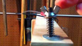 getlinkyoutube.com-My simple hot wire foam cutter