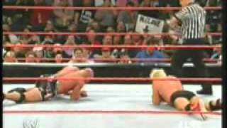 Ric Flair vs Kurt Angle (From Raw 05)