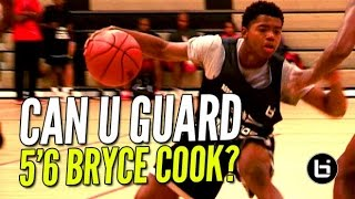 """getlinkyoutube.com-Can YOU Guard 5'6"""" Bryce Cook!? The New Most EXCITING Player in High School!"""