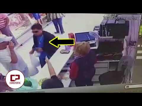 Vídeo: Uma pessoa morre e outra fica ferida, após cliente insatisfeito atirar contra estabelecimento comercial em Maringá