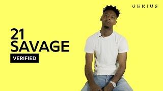 "getlinkyoutube.com-21 Savage ""No Heart"" Official Lyrics & Meaning | Verified"