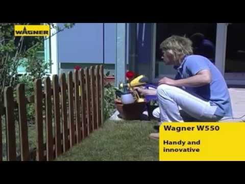 Wagner W550 - Pistola Pulverizadora Elétrica