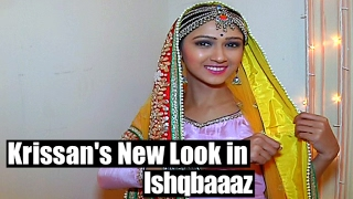 getlinkyoutube.com-Krissan aka Romi's new look in Ishqbaaaz