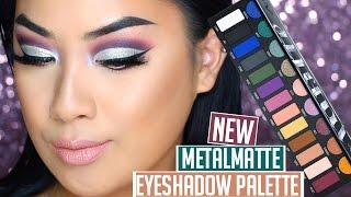 getlinkyoutube.com-NEW Kat Von D Metal Matte Eyeshadow Palette Review & Tutorial