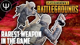 PLAYERUNKNOWN'S BATTLEGROUNDS — Rarest Weapon In the Game!