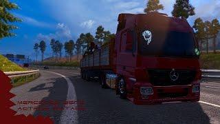 getlinkyoutube.com-Euro Truck Simulator 2 - Mercedes Benz Actros Editado