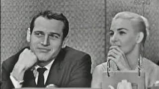 getlinkyoutube.com-What's My Line? - Paul Newman & Joanne Woodward; Art Linkletter [panel] (Nov 8, 1959)