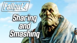 getlinkyoutube.com-Fallout 4 - Sharing and Smashing - Strong Explains His Philosophy of Life :)