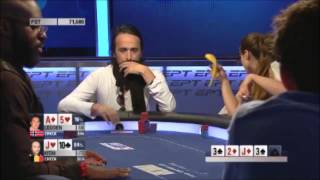 Johnny Lodden vs Davidi Kitai at the 2014 EPT