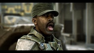 "getlinkyoutube.com-FUNNY Sgt. Johnson (Halo 2 Anniversary) Different Speeches ""Metropolis"""