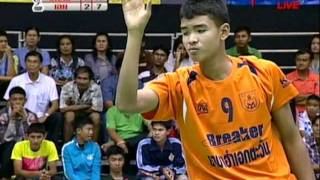 getlinkyoutube.com-2011 Sepak Takraw Thailand League / Loei Vs Ratchasima- set 5