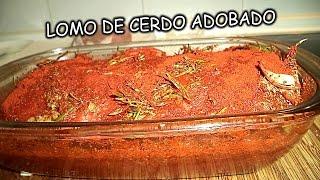 getlinkyoutube.com-LOMO DE CERDO ADOBADO CASERO | Recetas de Cocina