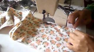 getlinkyoutube.com-pesak baju kurung - cantum kikik dan lengan