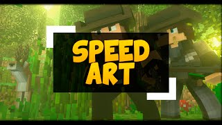 getlinkyoutube.com-Speed ART - THUMBNAIL CAÇADORES