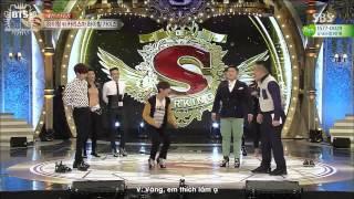 getlinkyoutube.com-[Vietsub] [BangtanBoysVN] 150516 BTS on Star King - V Dancing in High Heels
