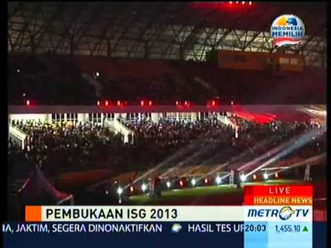Islamic Solidarity Games 2013 Resmi Dibuka